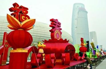 第六届鹤壁春节灯会即将启幕